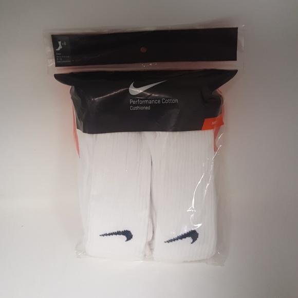 3ea21a34ce5 Nike Underwear & Socks | Performance Cotton Crew Socks 6 Pack | Poshmark